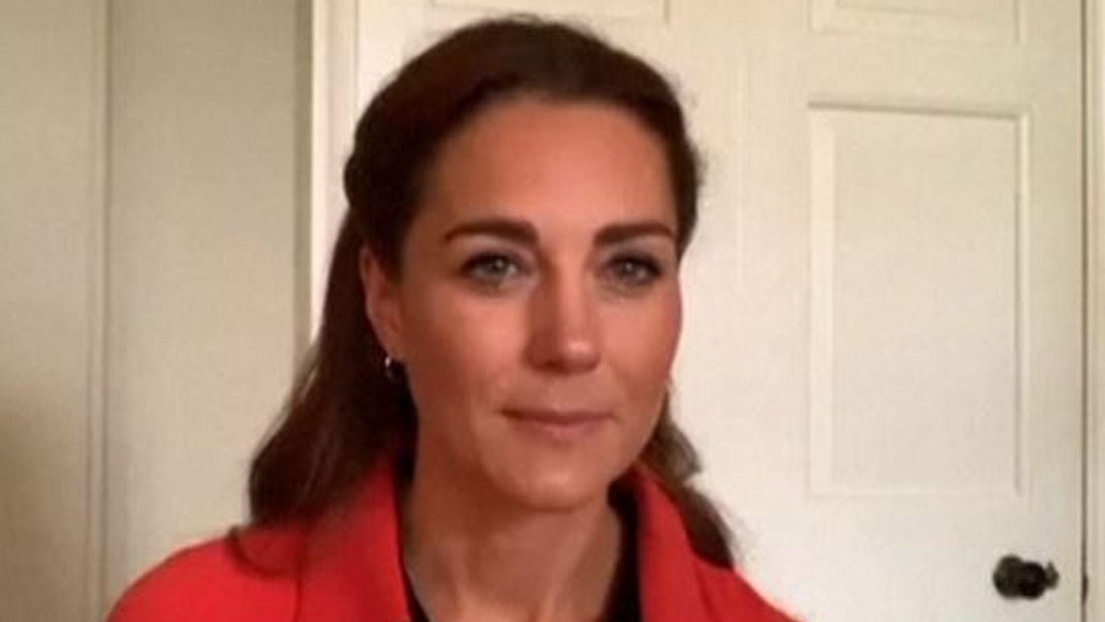 Coronavirus: Kate urges struggling addicts to seek help during COVID-19 lockdown thumbnail