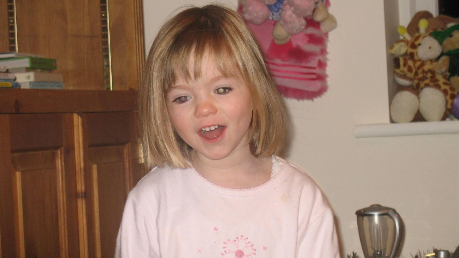 The latest McCann suspect: Scotland Yard has revealed vital new information about a suspect wanted in connection with the disappearance of Madeleine McCann. Skynews-madeleine-mccann-missing-girl_5005120