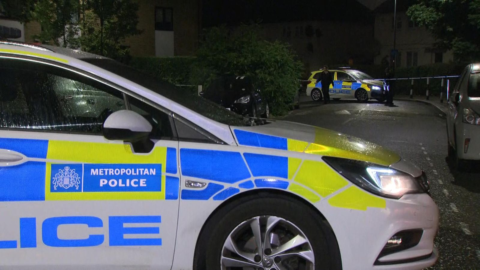 Young child 'critical' and among four people shot in London