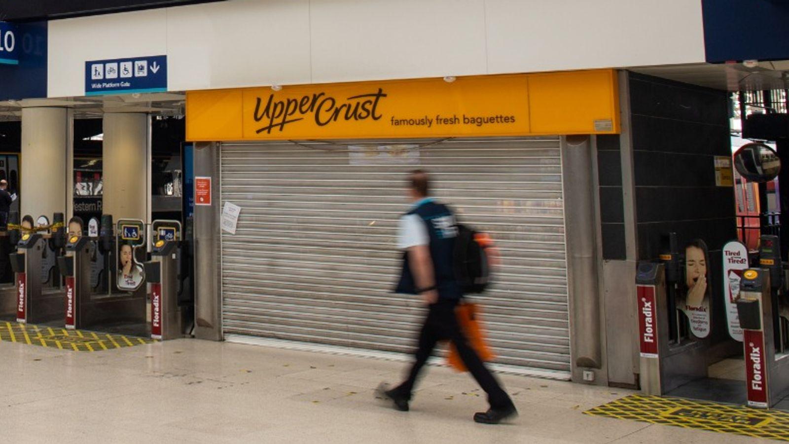 Coronavirus: Upper Crust owner SSP to announce 5,000 UK job cuts   Business News