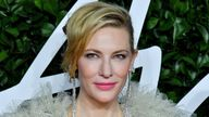 Mandatory Credit: Pic Anthony Harvey/Shutterstock (10489774by) Cate Blanchett The Fashion Awards, Arrivals, Royal Albert Hall, London, UK - 02 Dec 2019