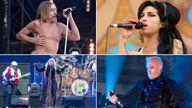 Iggy Pop, Amy Winehouse, The Prodigy, Fleetwood Mac
