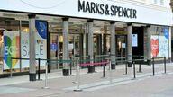 M&S store exterior