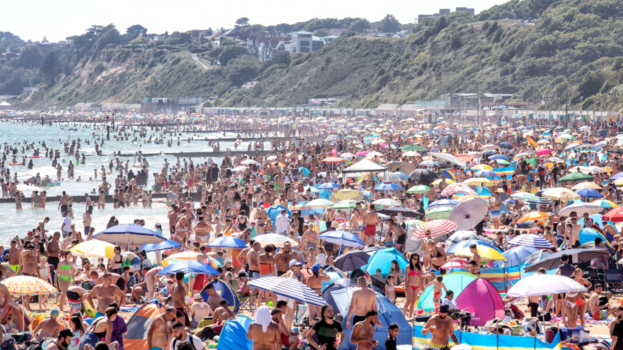 Coronavirus 'still out there': PM condemns people 'taking too many liberties' after crowded beach scenes
