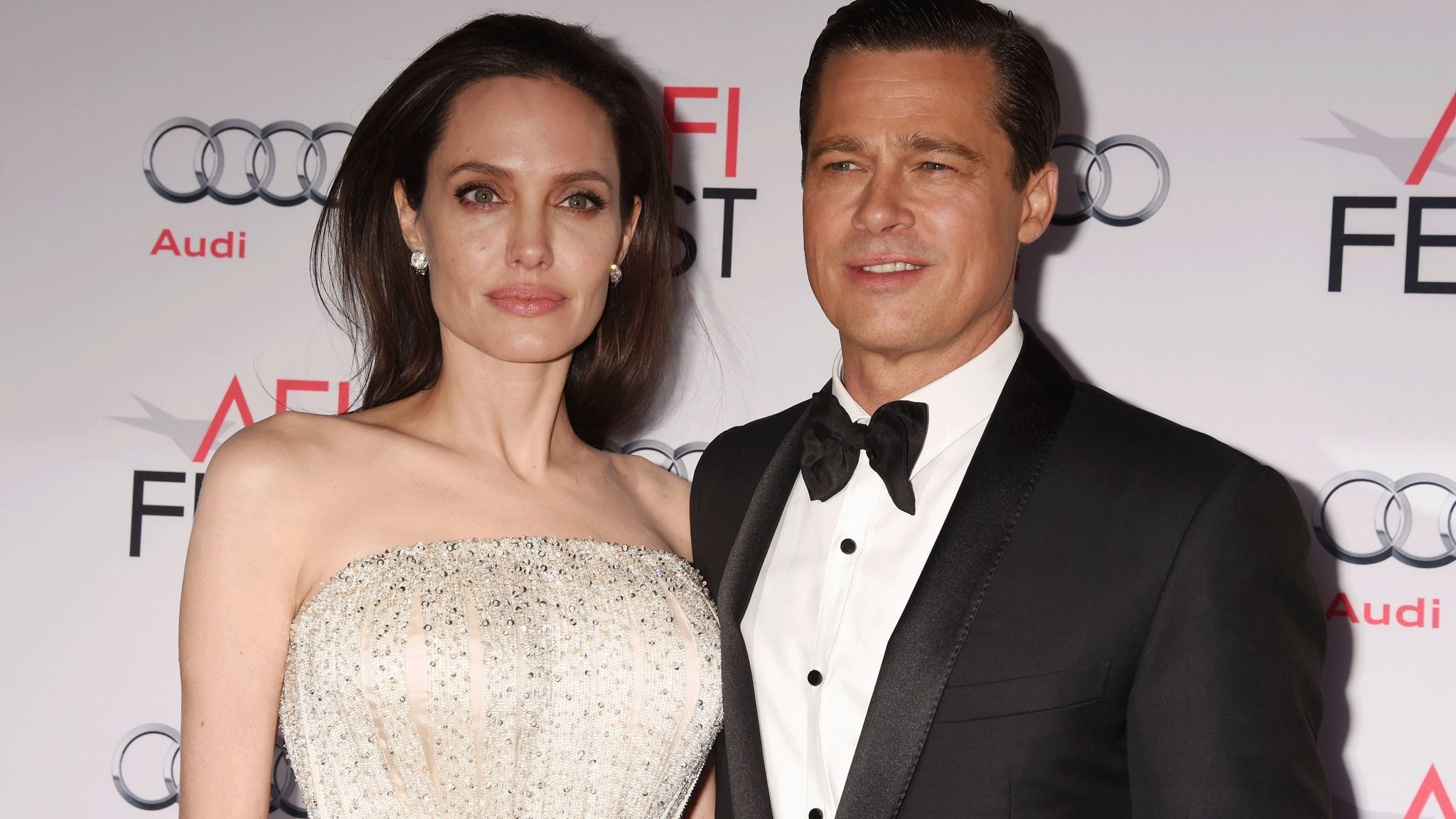 Angelina Jolie Reveals She Divorced Brad Pitt For The Wellbeing Of Her Family Ents Arts News Sky News