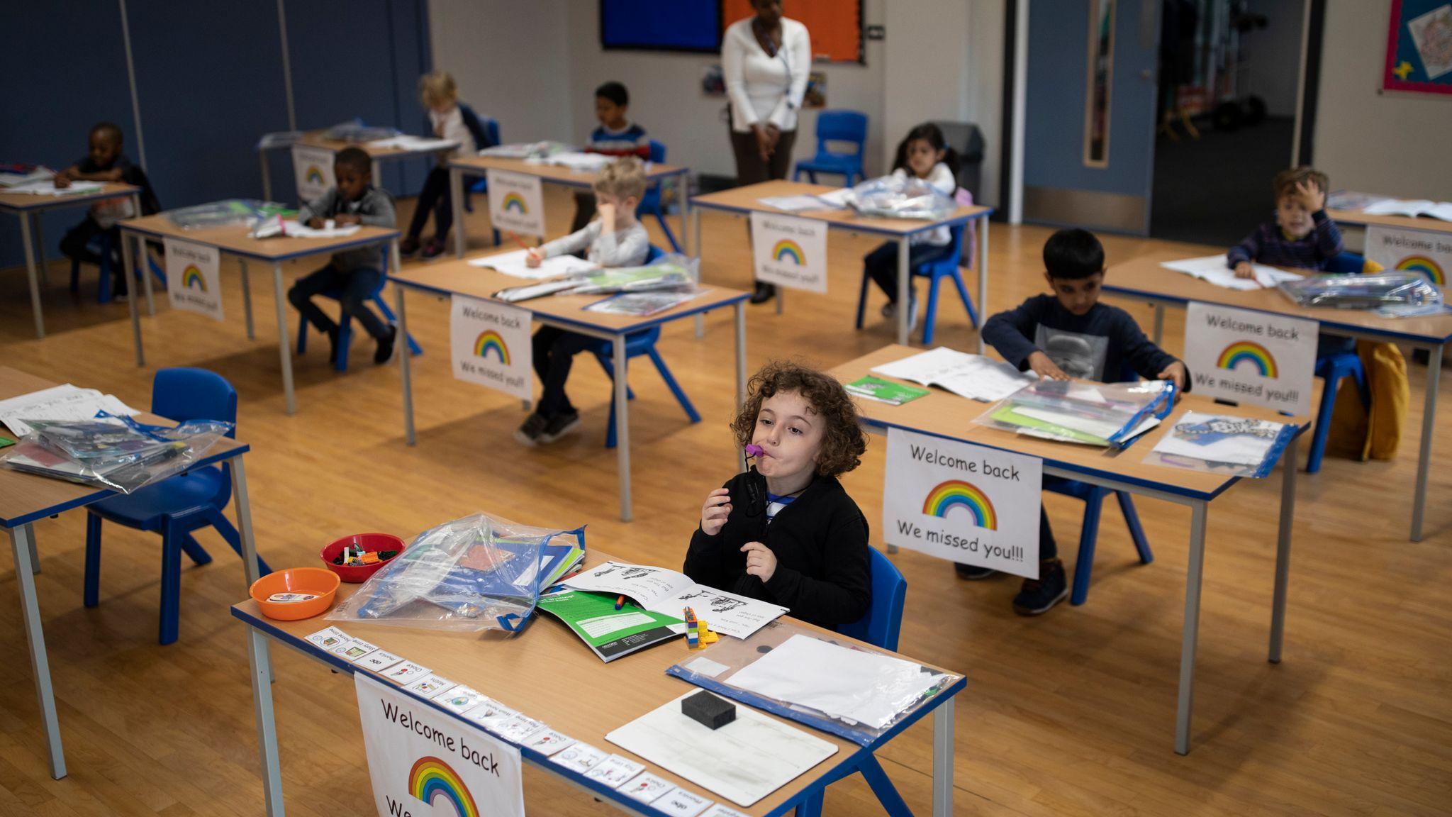 Coronavirus Reopening Schools