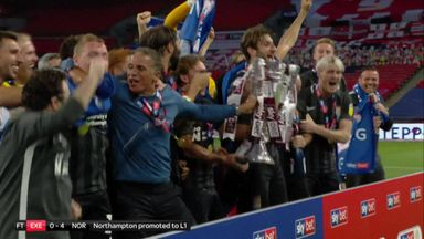 Northampton promoted to League One