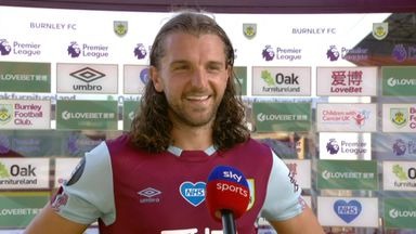 Rodriguez: Delighted with 50th Burnley goal