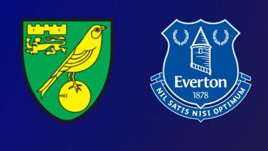 Norwich City v Everton
