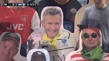 'The Last Leg' team spotted at the NRL!