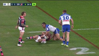 Great hands in Roosters try!