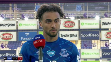 Calvert-Lewin: No atmosphere was strange
