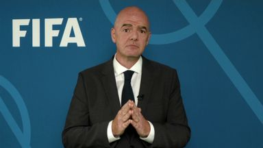 Infantino wants talks on salary and transfer-fee caps