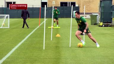 Celtic return to training