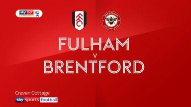 Fulham 0-2 Brentford