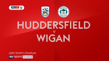 Huddersfield 0-2 Wigan