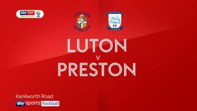 Luton 1-1 Preston