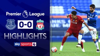 Merseyside derby ends goalless