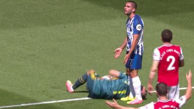 Ref Watch: Did Maupay foul Leno?