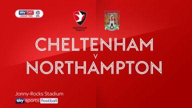 Cheltenham 0-3 Northampton