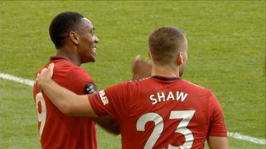 Martial's brilliant hat-trick goal (74)