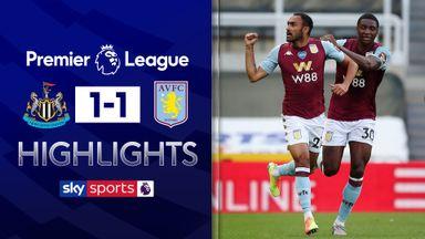 Late equaliser earns Villa draw