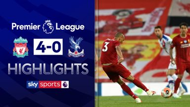 Liverpool thrash Palace to edge closer to title