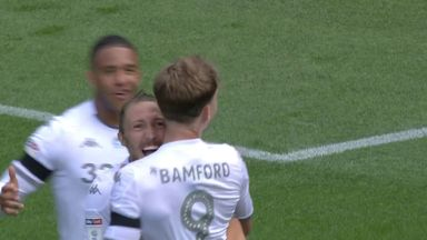 Bamford scores with a clinical finish