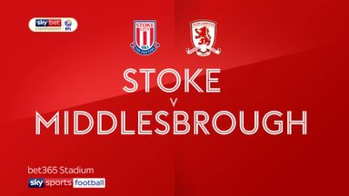 Stoke 0-2 Middlesbrough