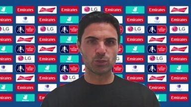 Arteta: Happy with reaction to late goal