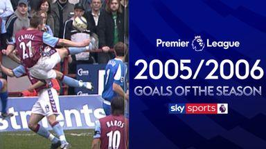 PL goals of season 2005/2006