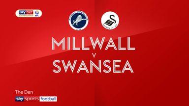 Millwall 1-1 Swansea