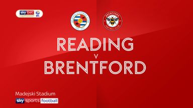 Reading 0-3 Brentford