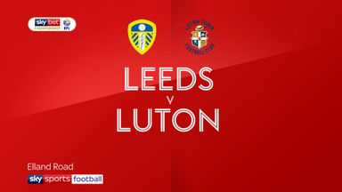 Leeds 1-1 Luton