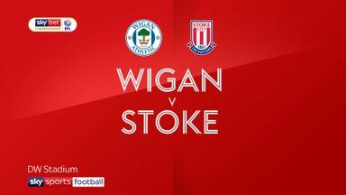 Wigan 3-0 Stoke