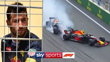 When team-mates collide: Ricciardo vs Verstappen