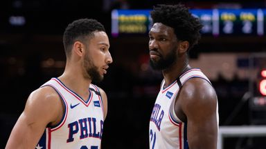 Injuries 'devastating' for the Sixers