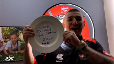 Aspinall wins PDC Home Tour