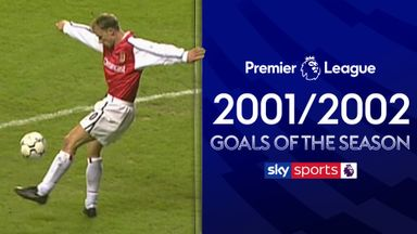 2001/02 Premier League Goals of the Season