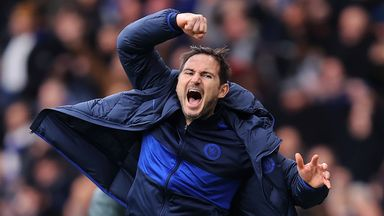 Lampard enjoying pressure of management