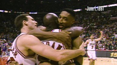 NBA Retro: MJ's brilliant buzzer beater