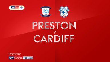 Preston 1-3 Cardiff