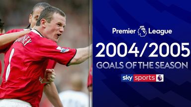 PL goals of season 2004/2005