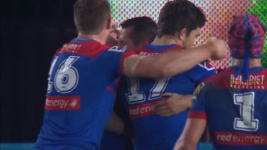 Pearce completes Knights rout