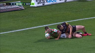 Rabbitohs reduce Panthers lead