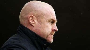 Dyche: No panic at Burnley