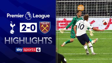 Kane helps Spurs ease past Hammers
