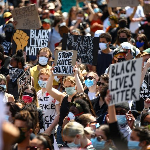 Black Lives Matter protests: How focus differs between US and UK