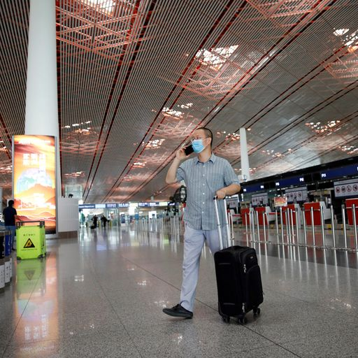 New travel bans in Beijing as COVID-19 infections spread