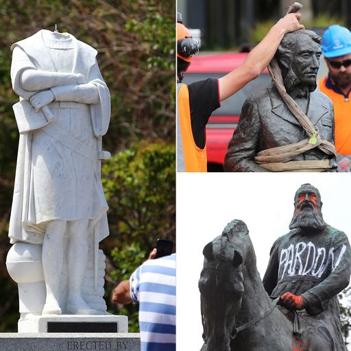 How statues of controversial colonial figures became targets across the world